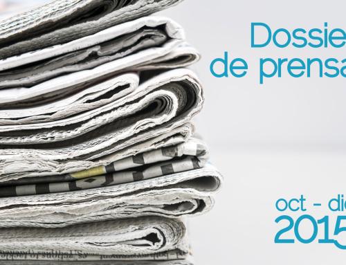 Dossier de prensa [oct-dic 2015]